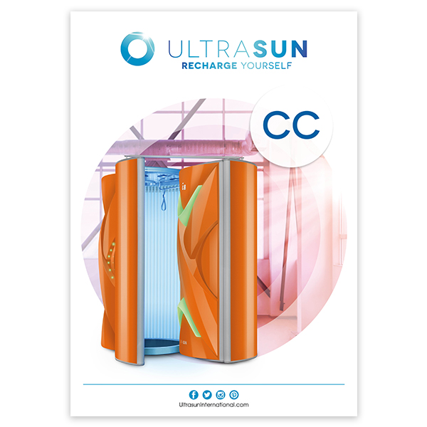 Ultrasun Changing Cubicle poster